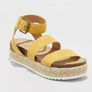 Womens Agnes Quarter Strap Espadrille Sandals 7